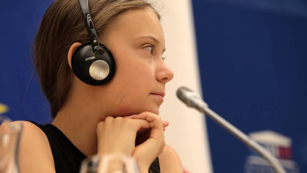 Greta Thunberg in Paris
