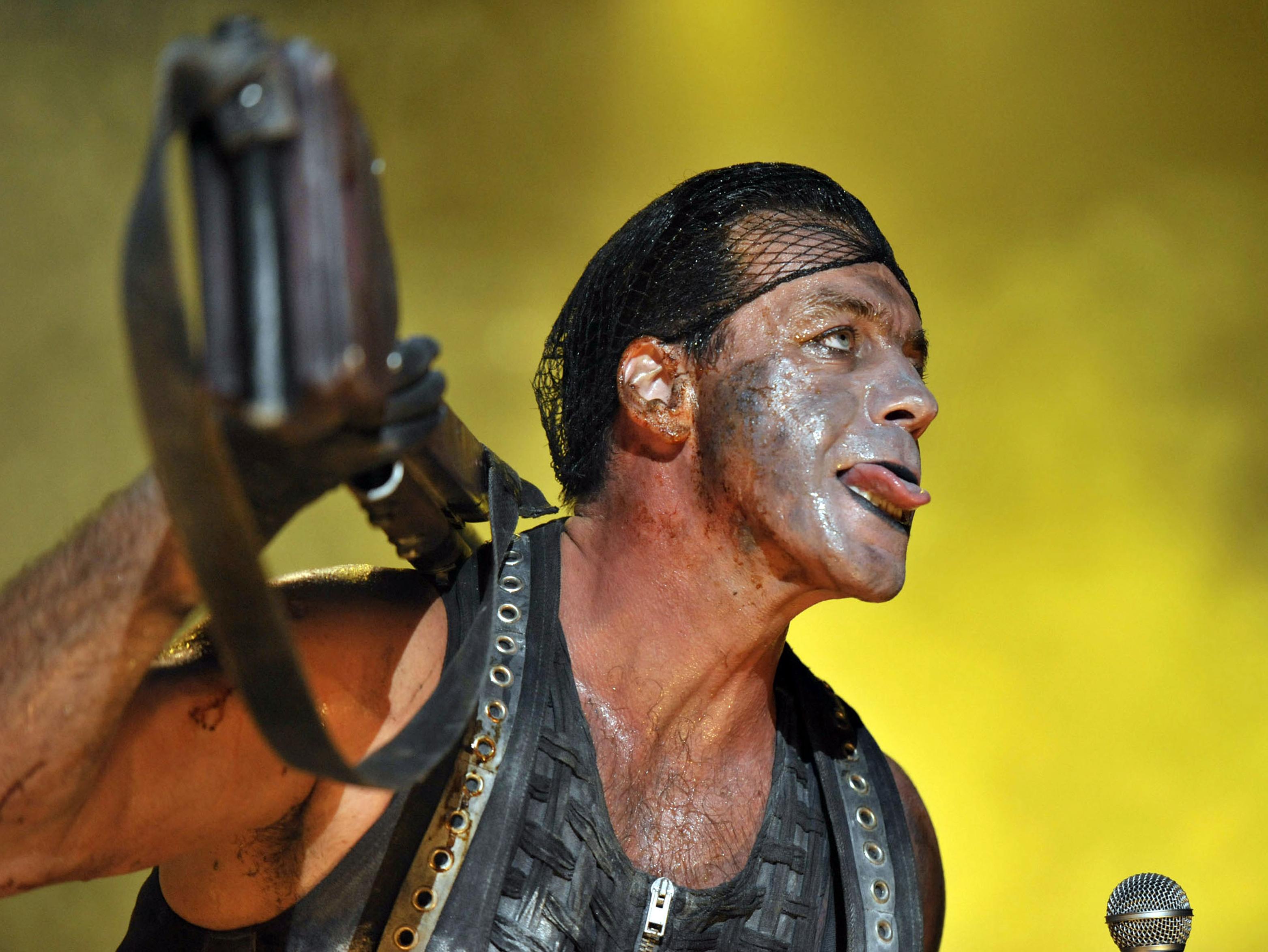 Till Lindemann: Support-Act Jadu mit martialischen Worten zum...