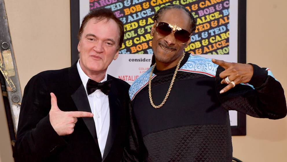 "Musikliebhaber Quentin Tarantino und Snoop Dogg bei der Prämiere zu ""Once Upon A Time…In Hollywood"""