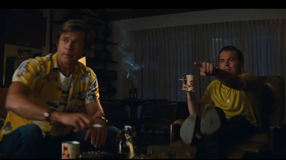 "Brad Pitt und Leonardo DiCaprio in ""Once Upon A Time…In Hollywood"""