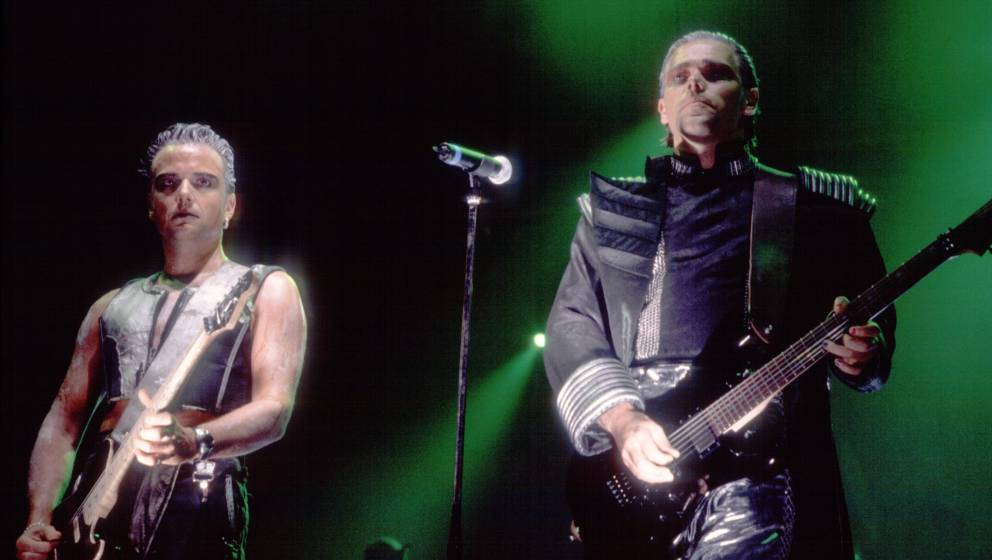 Richard Kruspe und Paul Landers, 1998.