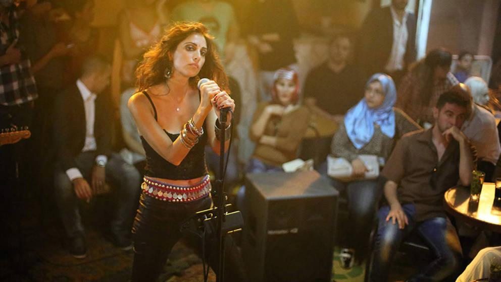 "Yasmine Hamdan in Jim Jarmuschs ""Only Lovers Left Alive""."