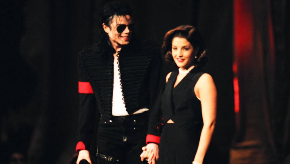 Michael Jackson und Lisa Marie Presley