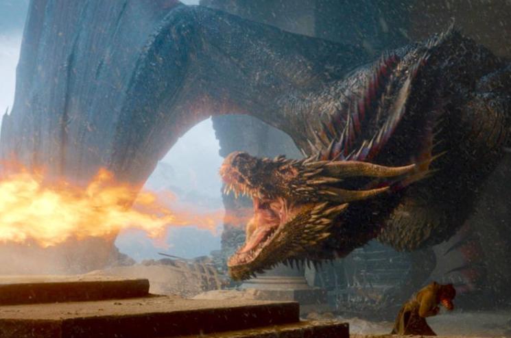 Warum setzte Drogon den eisernen Thron in Flammen?