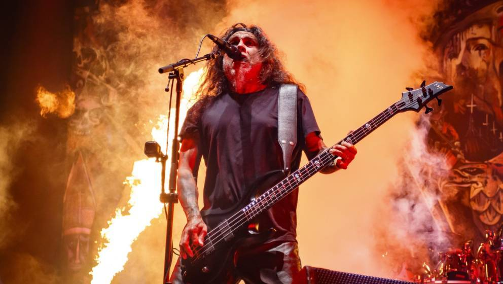 Tom Araya von Slayer gibt noch einmal alles