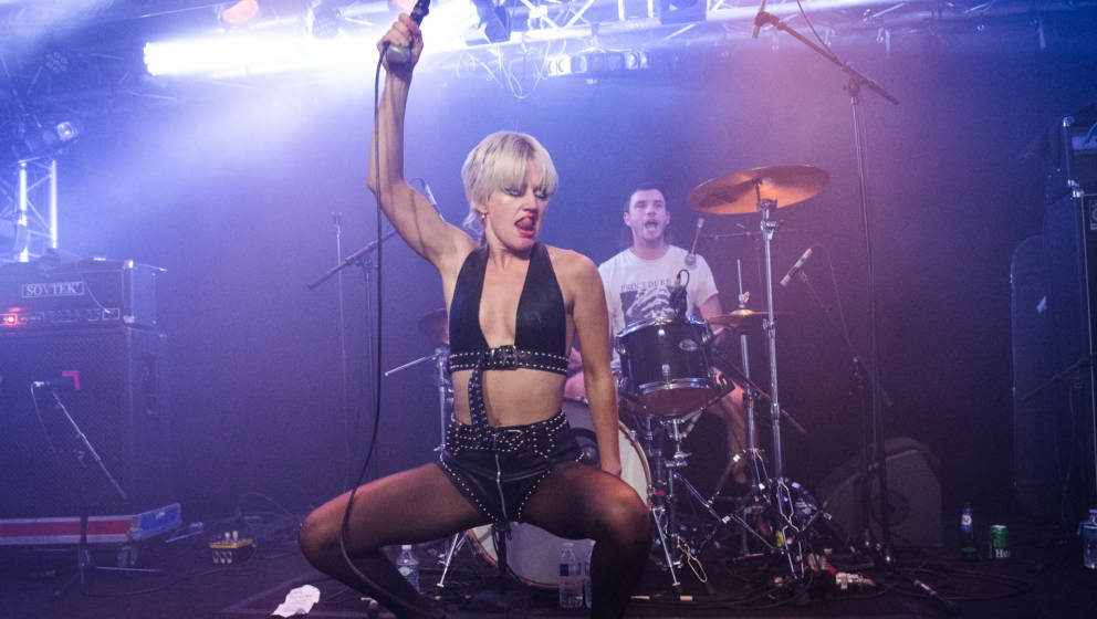 Energiezentrum: Amy Taylor von Amyl And The Sniffers