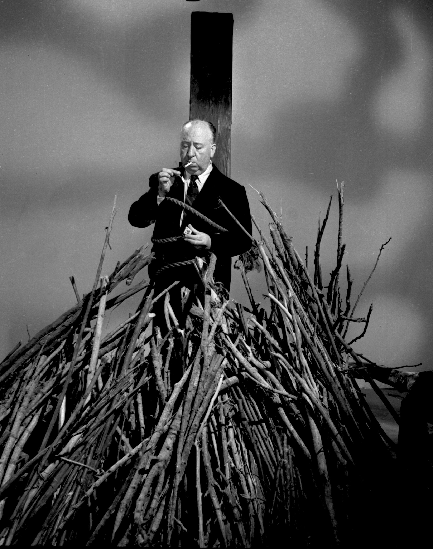Alfred Hitchcock gefangen