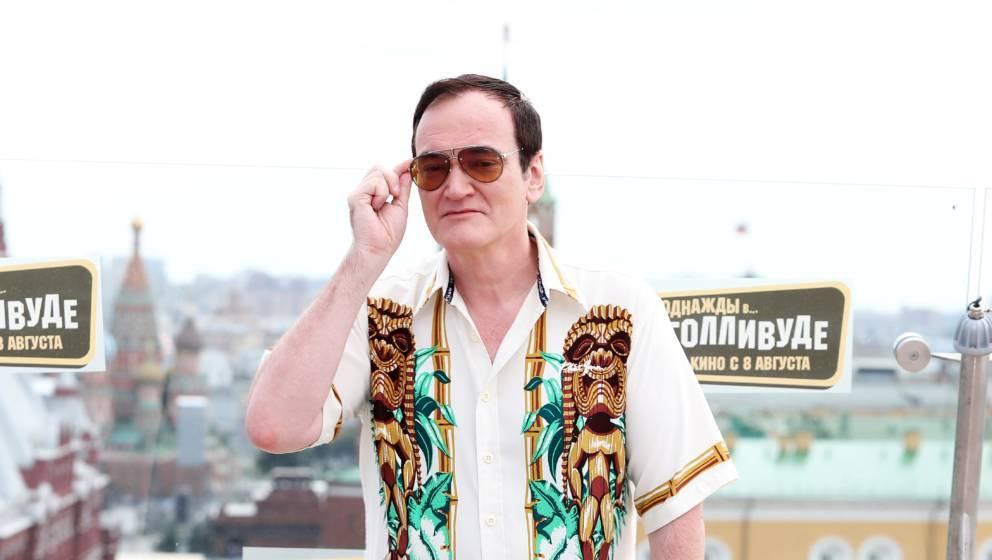 Begibt sich auf glattes Eis: Quentin Tarantino