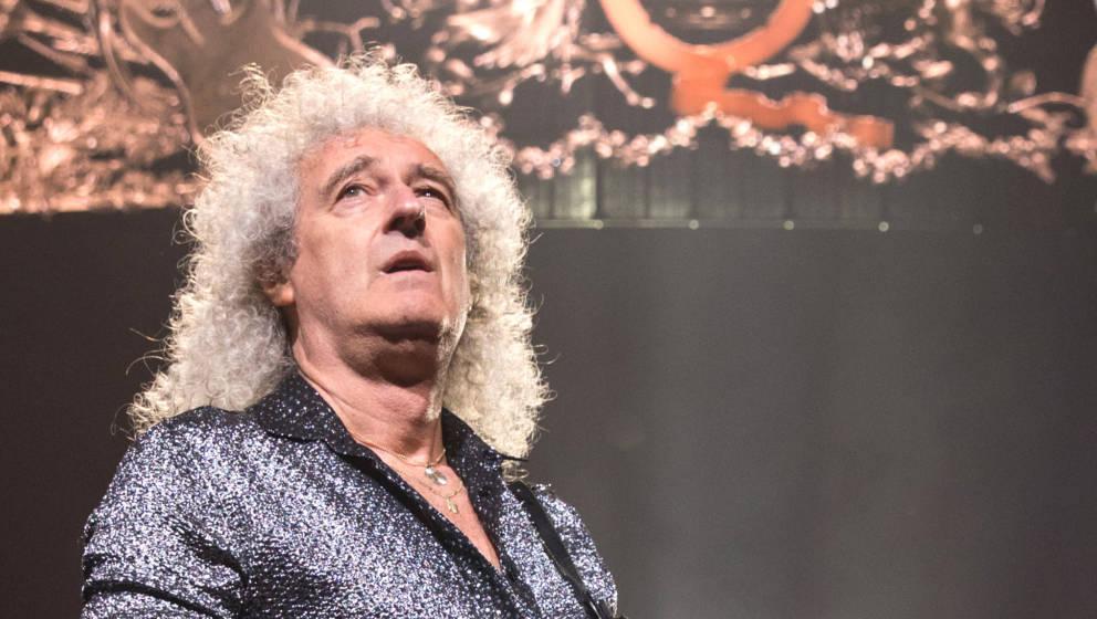 Brian May schwelgt in Erinnerungen.