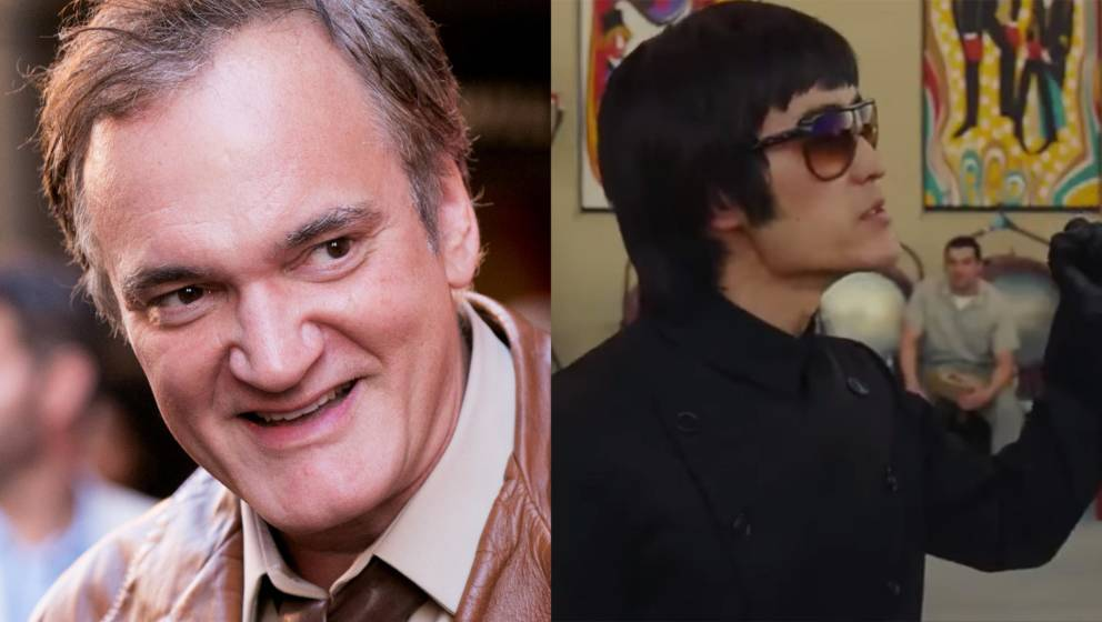 """Quentin Tarantino und sein Bruce Lee in """"Once Upon A Time In Hollywood"""""""