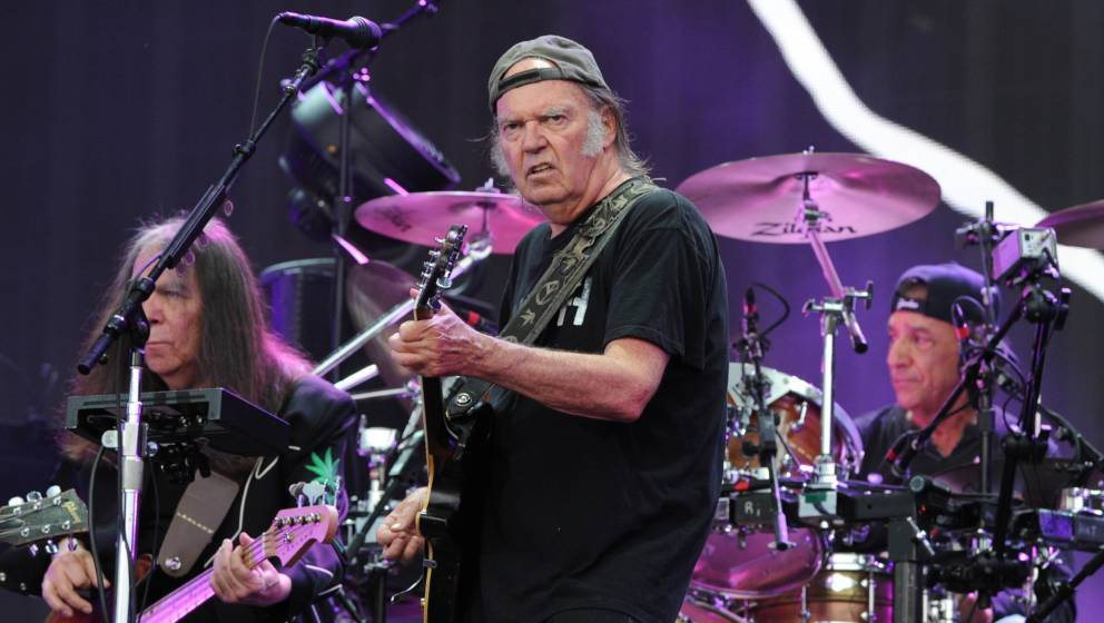 Neil Young und Crazy Horse in London