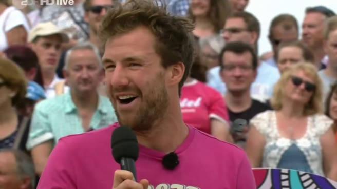 Im Auftrag einer höheren Macht: Luke Mockridge im ZDF-Fernsehgarten