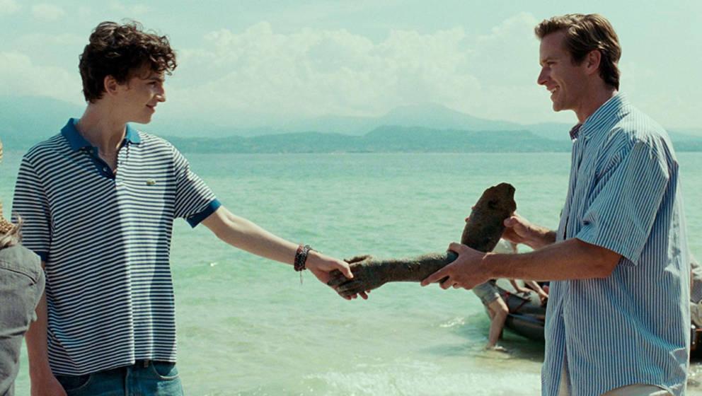 """""""Call Me By Your Name"""" zeigt erotische Spannung zwischen zwei jungen Männern."""