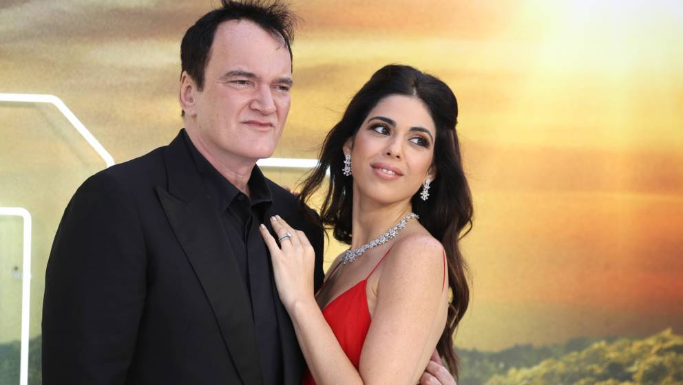 "Quentin Tarantino und Daniella Pick bei der London-Premiere zu ""Once Upon A Time…In Hollywood"""