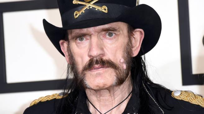 Lemmy Kilmister bei den Grammy-Awards 2015