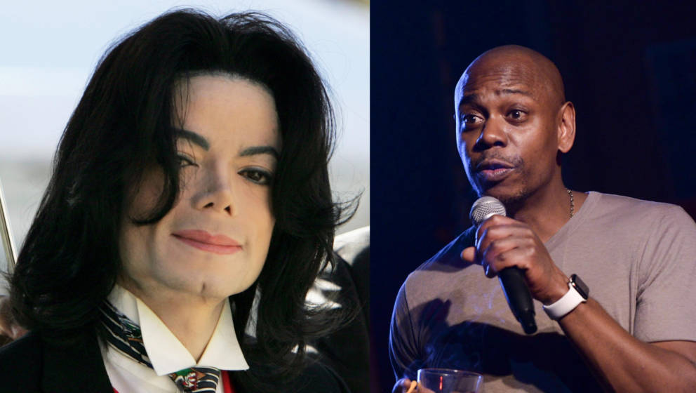 Michael Jackson und Dave Chapelle