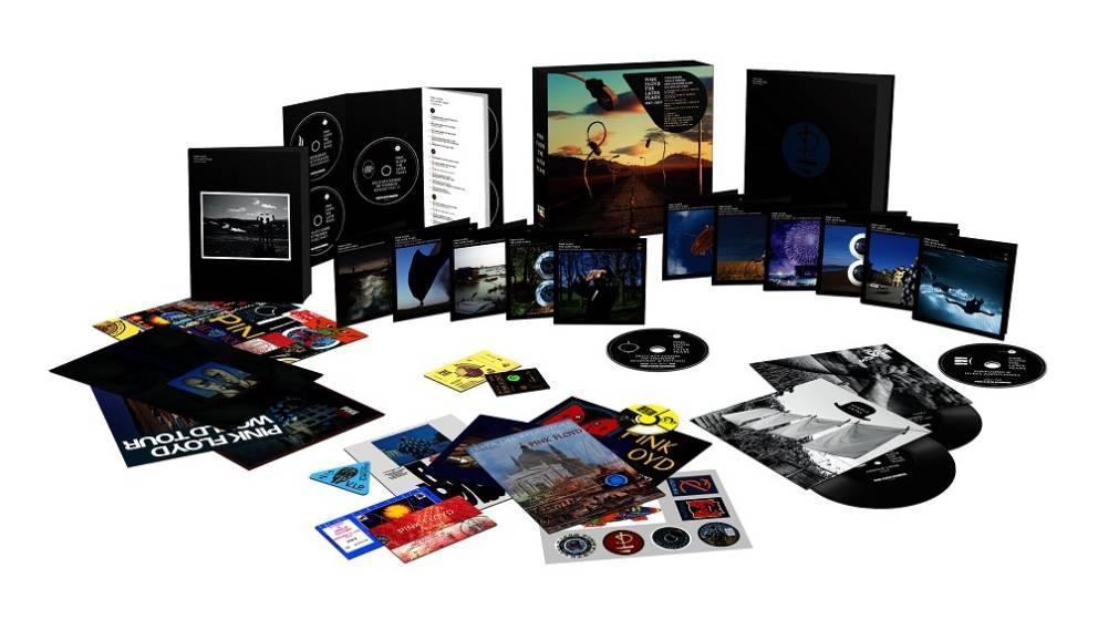 """Box-Set """"The Later Years"""" von Pick Floyd ausgepackt"""
