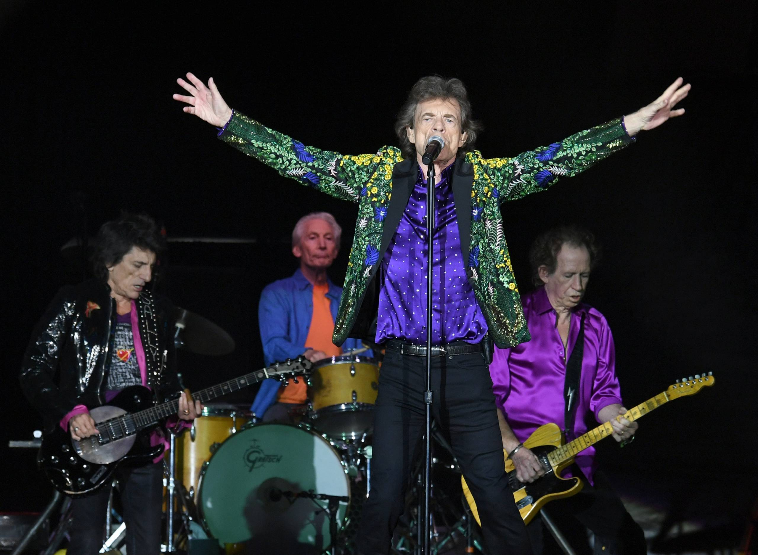 """Rolling Stones: """"Scarlet"""" mit The War On Drugs"""