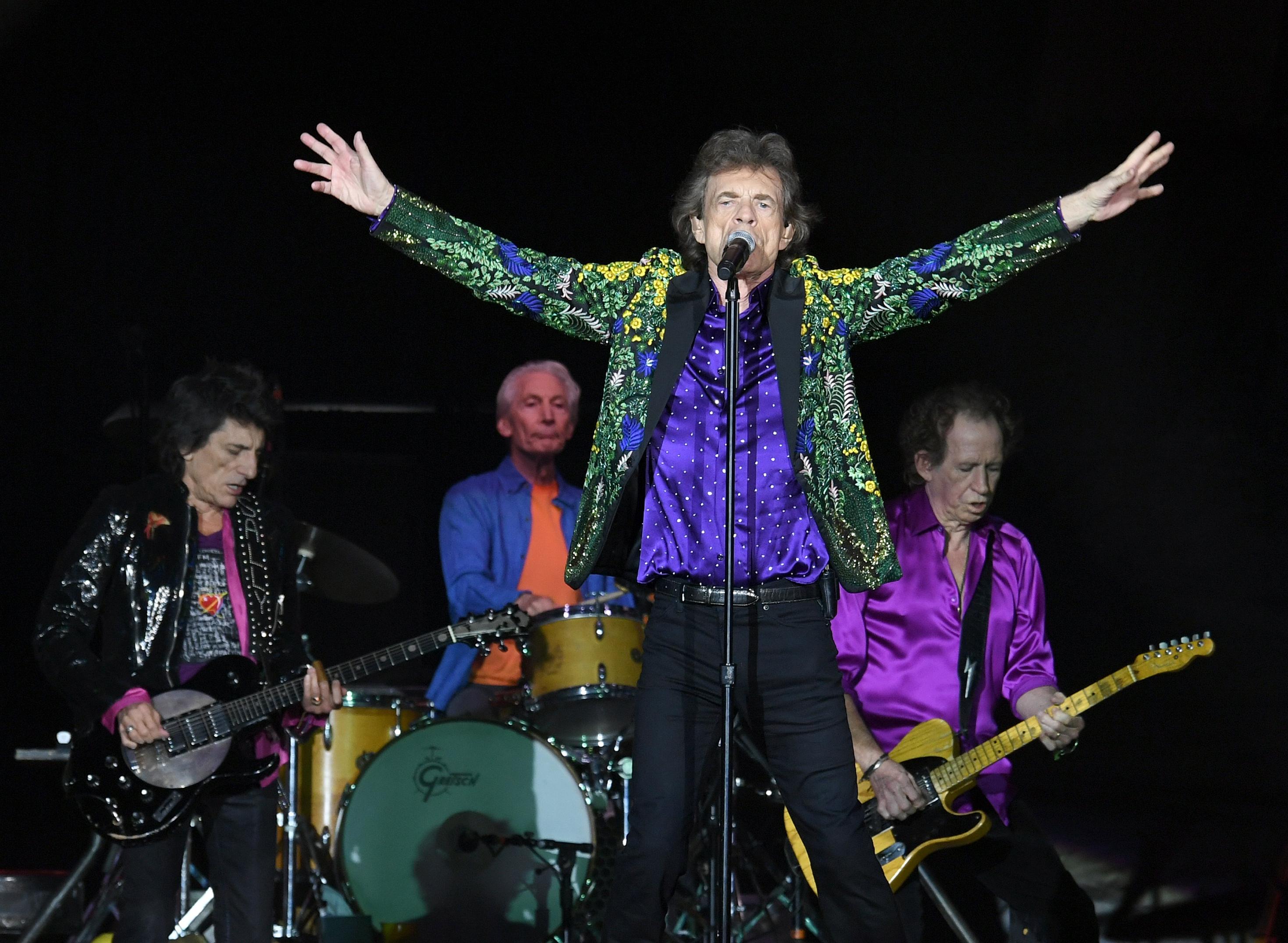 Hurrikan zwingt Rolling Stones in die...