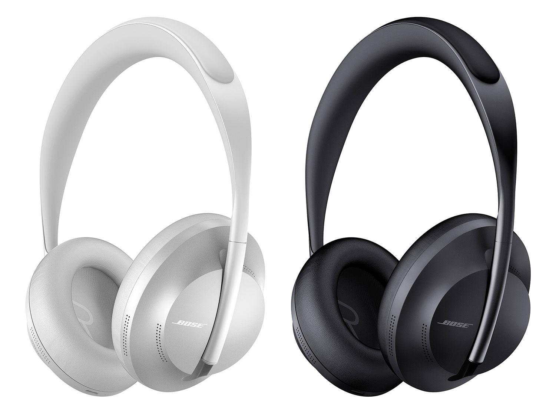 Die Bose Noise Cancelling Headphones 700 gibt es in zwei verschiedenen Farben