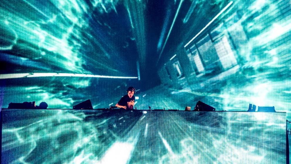 Avicii auf dem Wireless Festival 2015 in London, England.