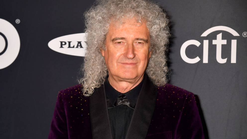 Brian May bei der Rock & Roll Hall Of Fame Induction Ceremony im März 2019 in New York City.