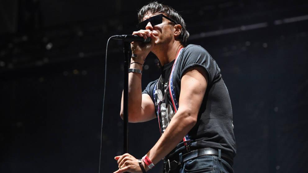 Sänger Julian Casablancas auf dem Lollapalooza Festival