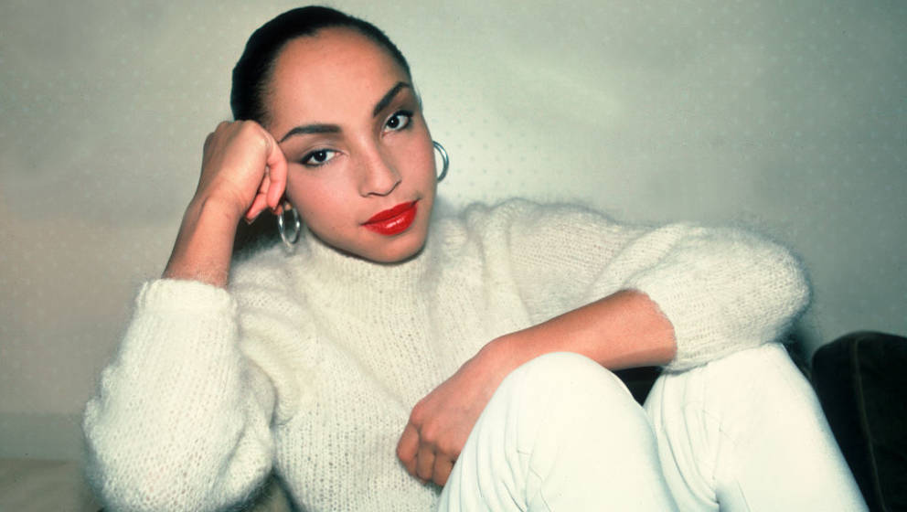 Portrait of the singer Sade at the Ambassador East Hotel in Chicago, Illinois, January 27, 1985. (Photo by Paul Natkin/Getty