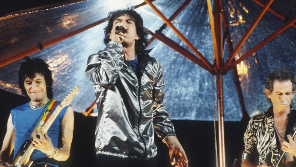 The Rolling Stones - Festivalpark - Werchter - Belgium - 21/06/1998 Bridges to Babylon Tour - On the B stage Mick Jagger, Kei