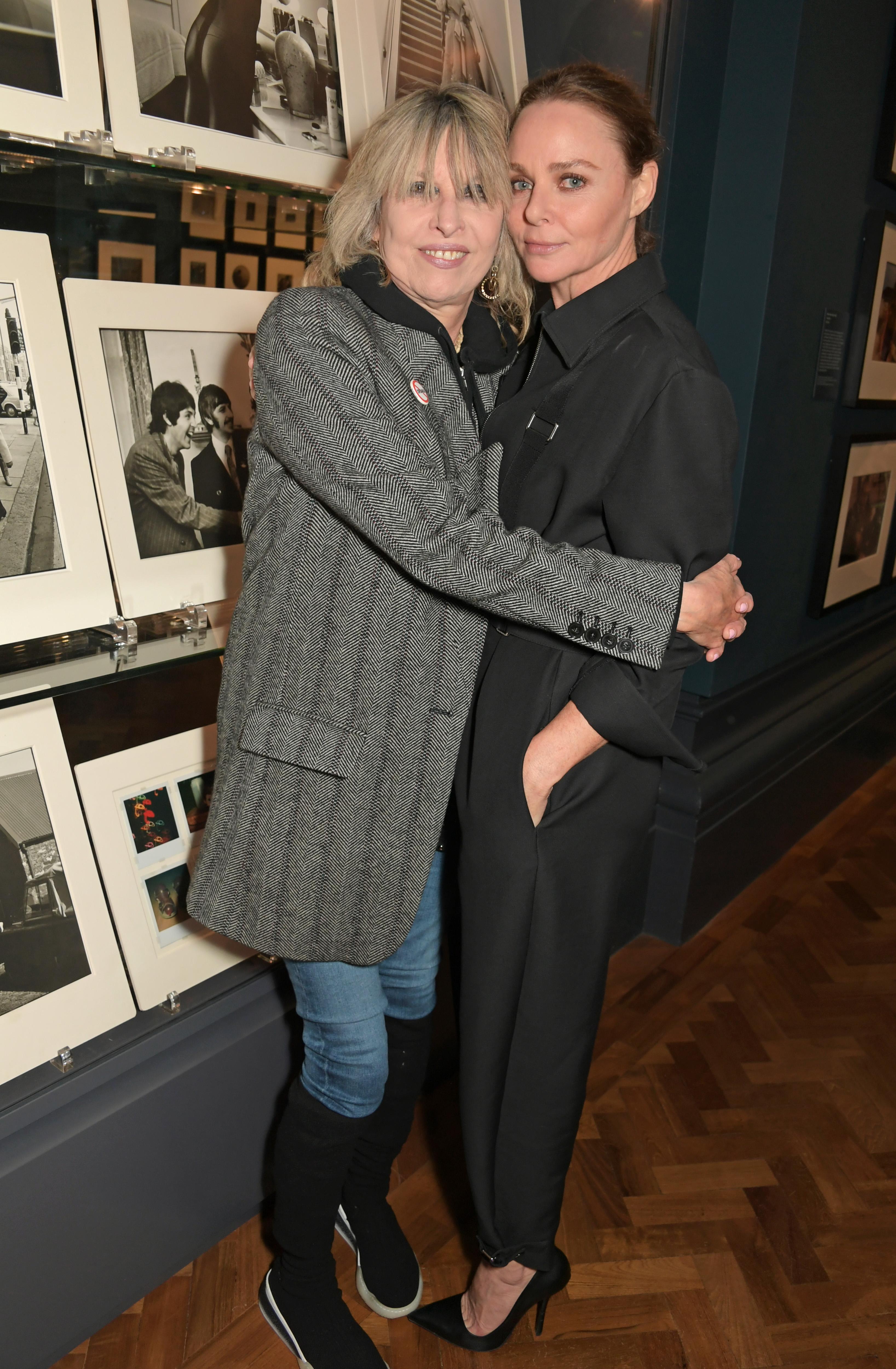 Chrissie Hynde und Stella McCartney