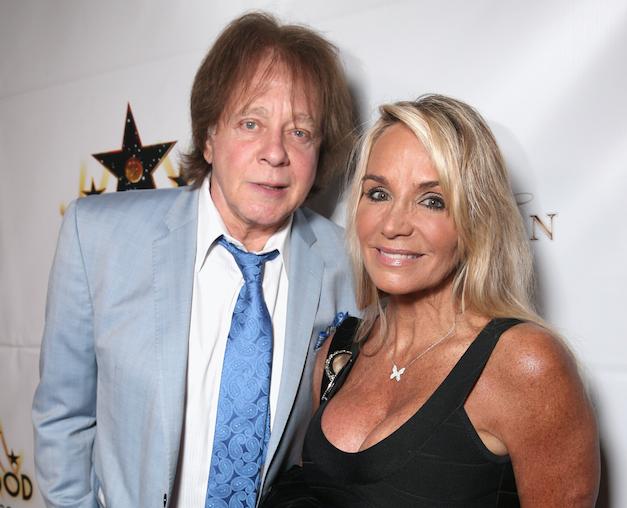 Eddie Money mit seiner Ehefrau Laurie Money 2013