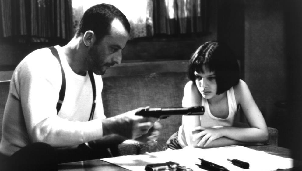 """Jean Reno und Natalie Portman in """"Leon der Profi"""""""