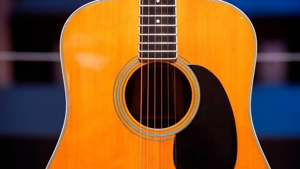 """Mit dieser Martin-Akustikgitarre wurde Pink Floyds """"Wish You Were Here"""" aufgenommen – aber auch mit Gitarren anderer Hersteller lässt sich Musikgeschichte schreiben"""