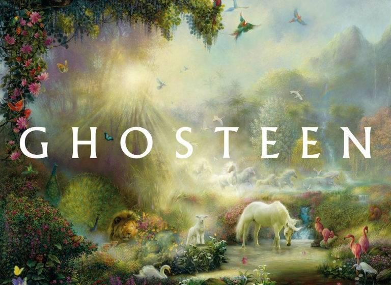 """Cover von """"Ghosteen"""""""