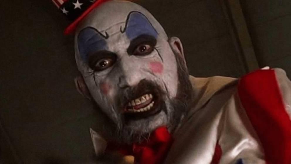 """Sid Haig als Captain Spaulding in """"Haus der 1000 Leichen"""""""