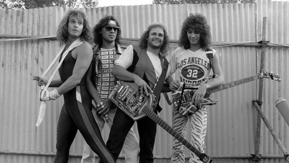 Van Halen - David Lee Roth, Alex Van Halen, Michael Anthony And Eddie Van Halen - 1980S, Van Halen - David Lee Roth, Alex Van