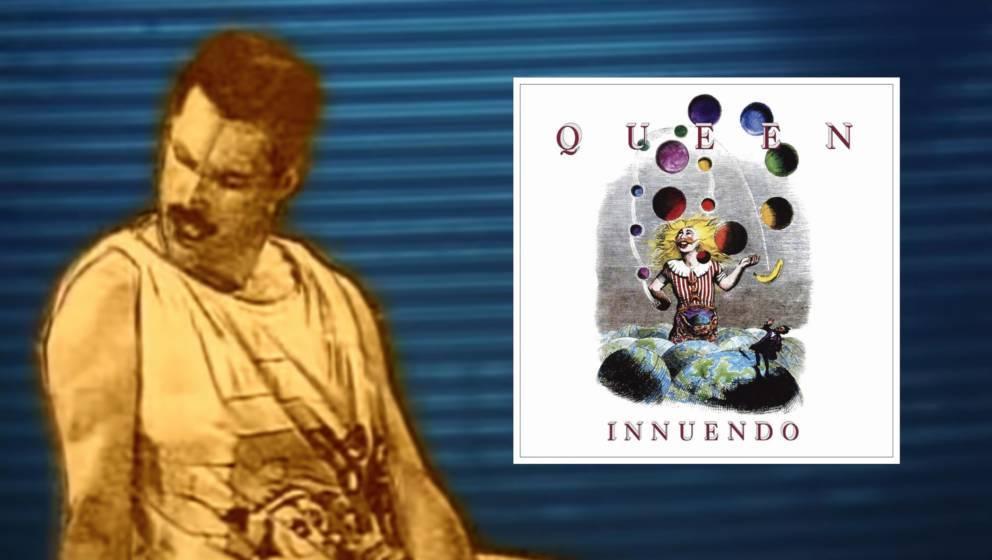 """""""Innuendo"""" von Queen: Letztes offizielles Album mit Freddie Mercury"""