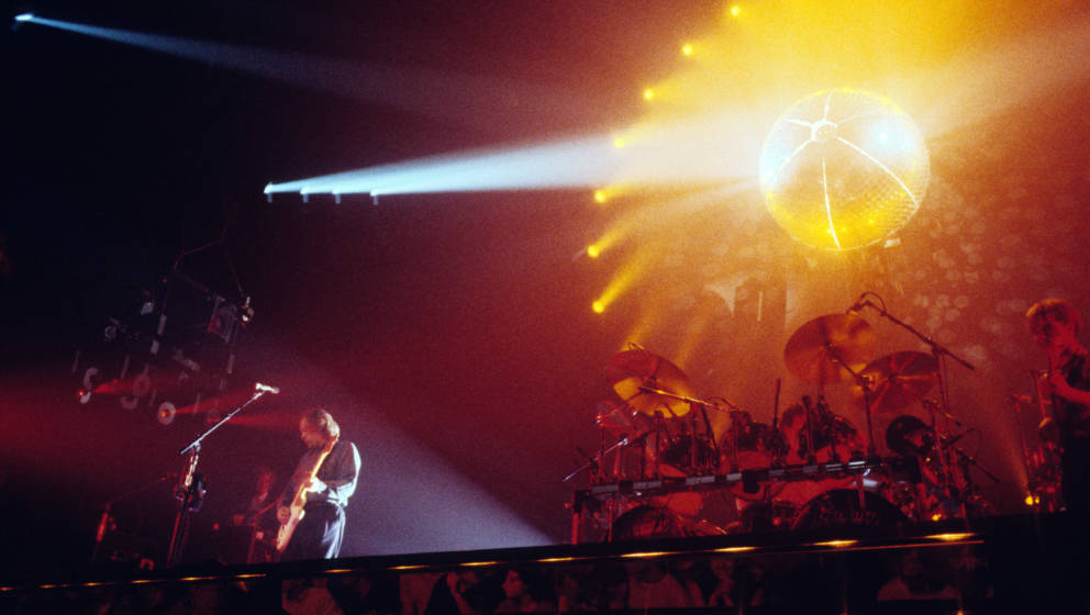 English group Pink Floyd performs in concert, New York, New York, circa July 1984. (Photo by Larry Busacca/WireImage)