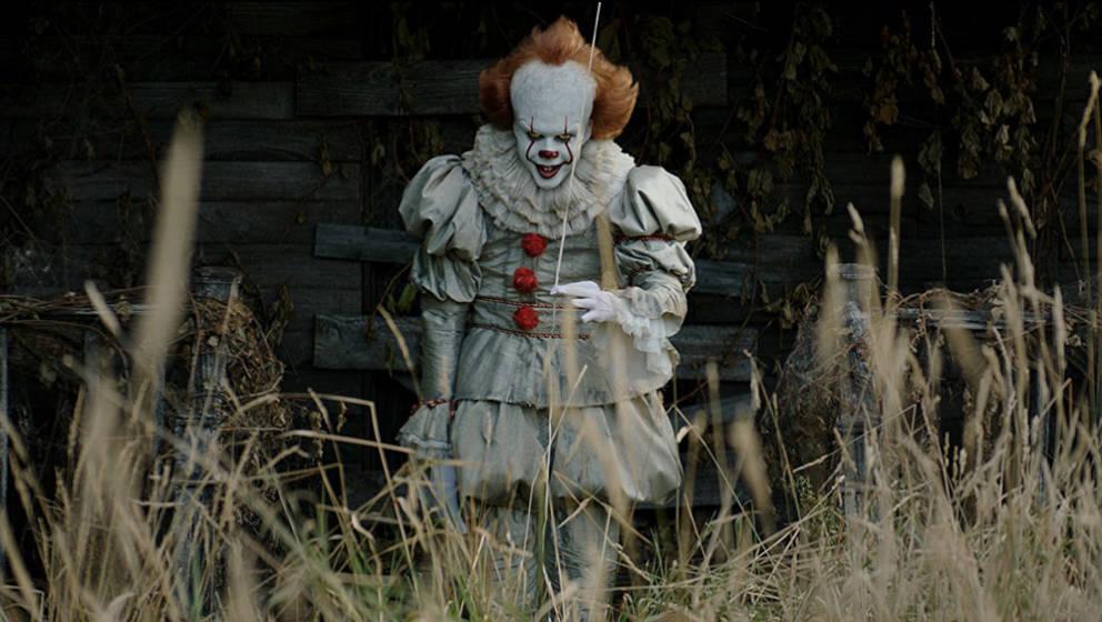 """Der wohl gruseligste Clown der Filmgeschichte: Pennywise aus Stephen Kings """"Es""""."""