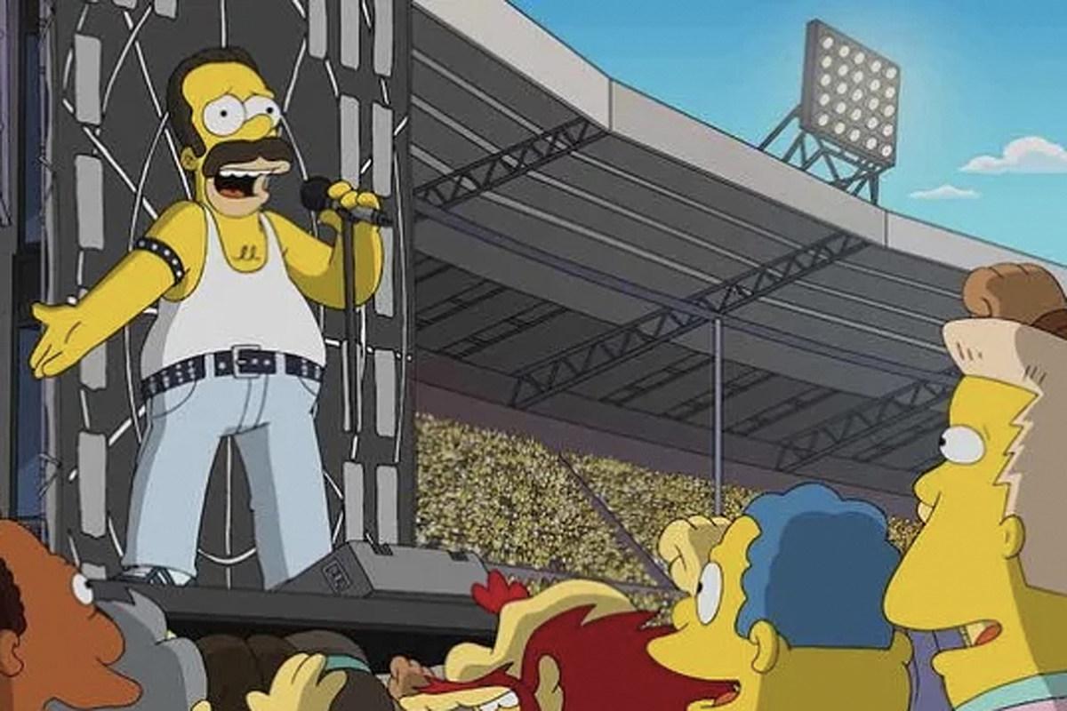Queen-Fans sind verärgert über Homer Simpson als Freddie...
