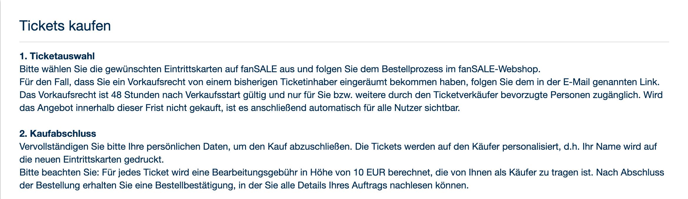 Käufer können beim Eventim-Fan-Sale sichergehen, dass sie ein gültiges Ticket erhalten