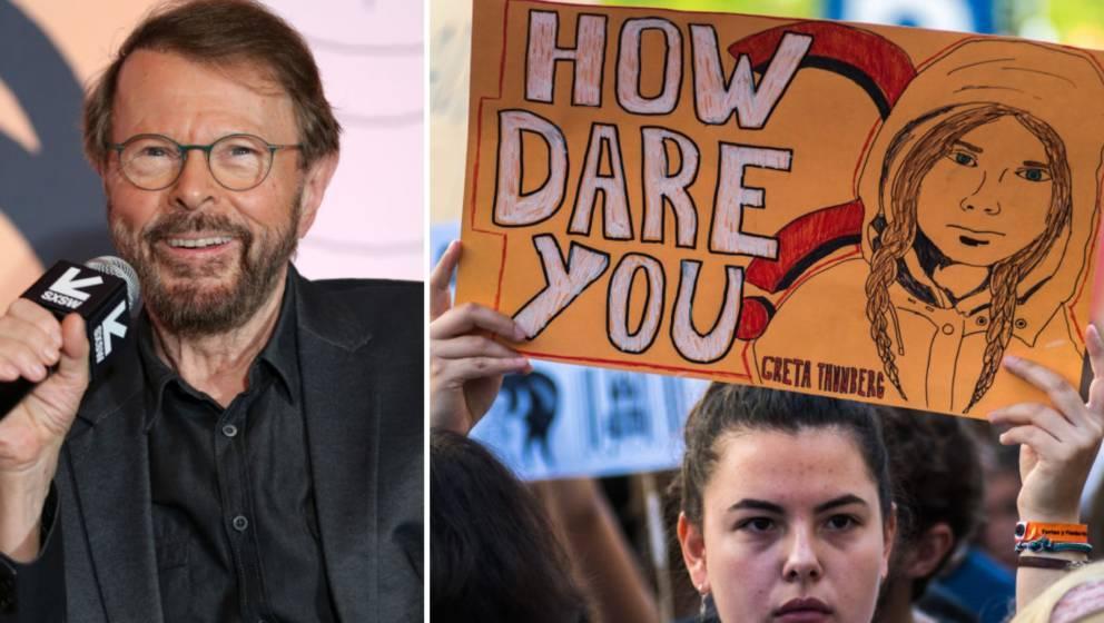 ABBA-Sänger Björn Ulvaeus hält Greta Thunberg für eine Jugendliche mit Superkräften