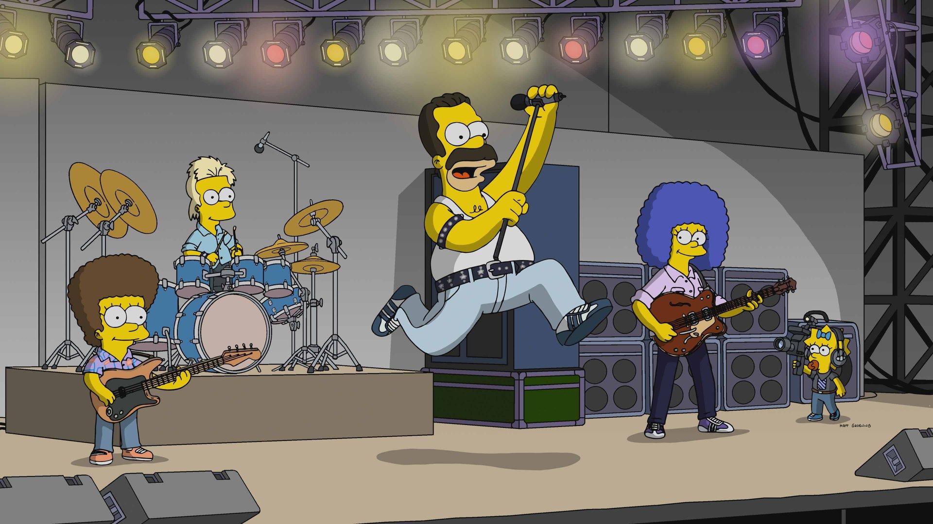 """""""The Simpsons"""" goes Queen: TV-Termin mit Homer als Freddie Mercury steht"""