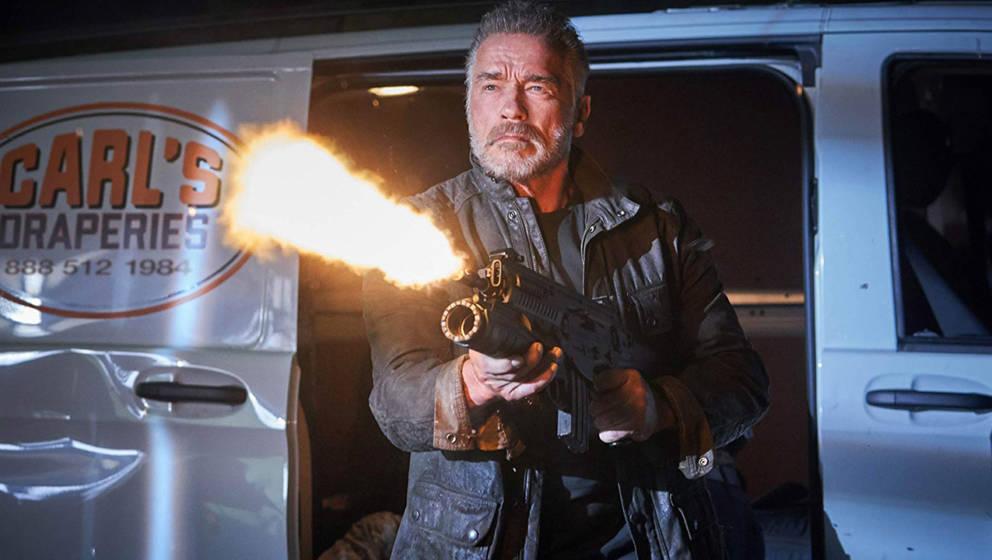 """Arnold Schwarzenegger ist bei """"Terminator: Dark Fate"""" auch wieder mit an Bord"""