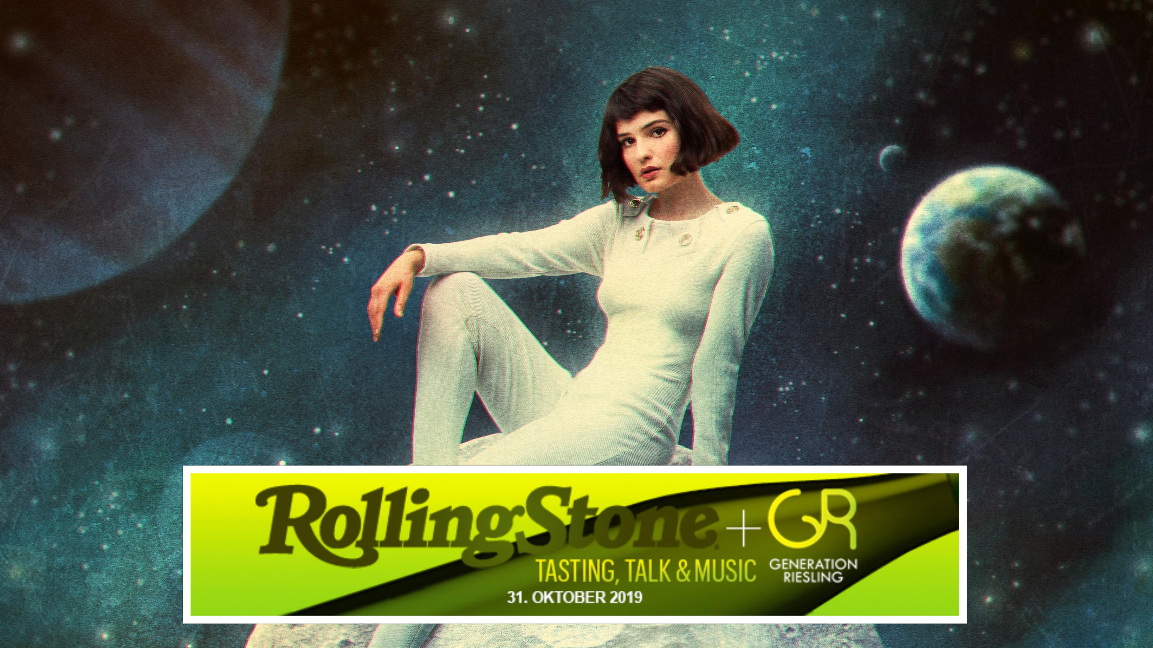 ROLLING STONE & Generation Riesling Tasting, Talk & Music im Venue...