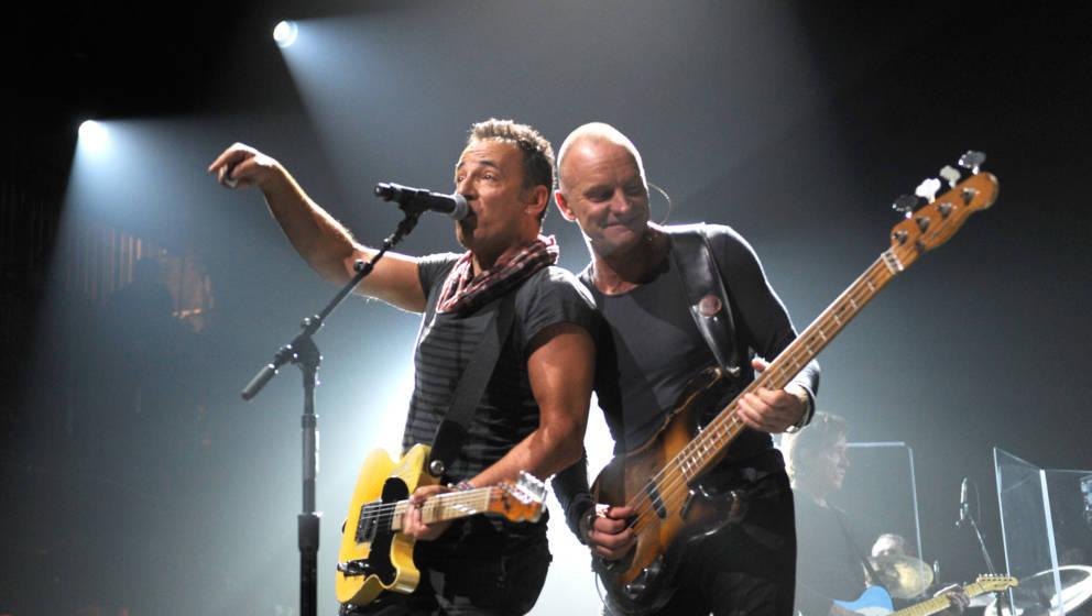 Bruce Springsteen und Sting