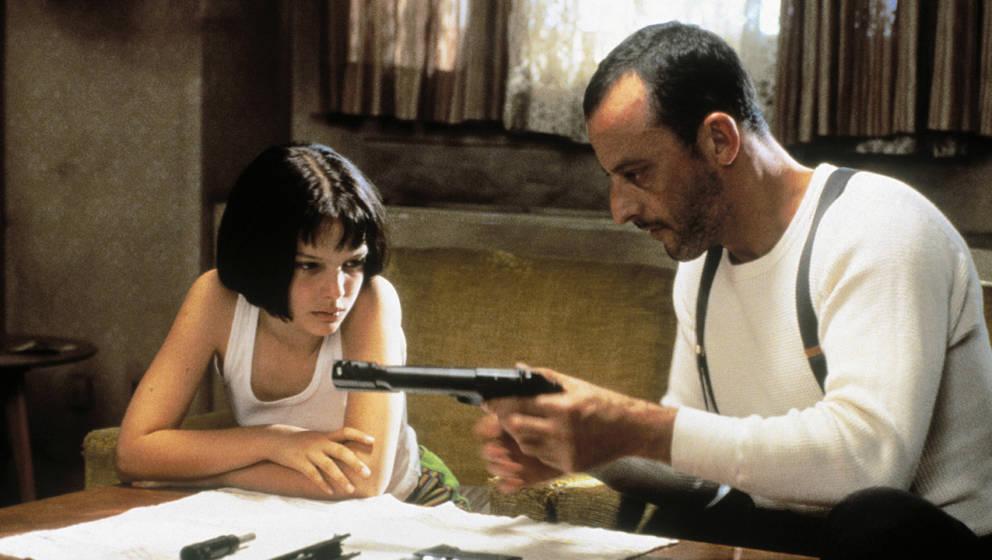 """Natalie Portman und Jean Reno in """"Léon – Der Profi"""""""