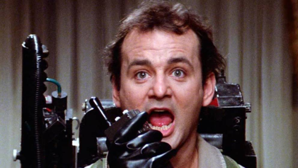 "Bill Murray in ""Ghostbusters"""