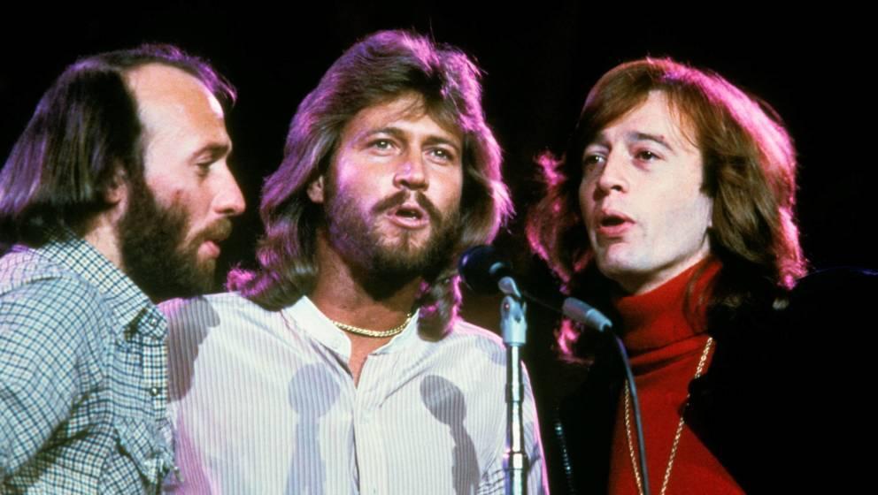 Maurice, Barry und Robin Gibb von den Bee Gees