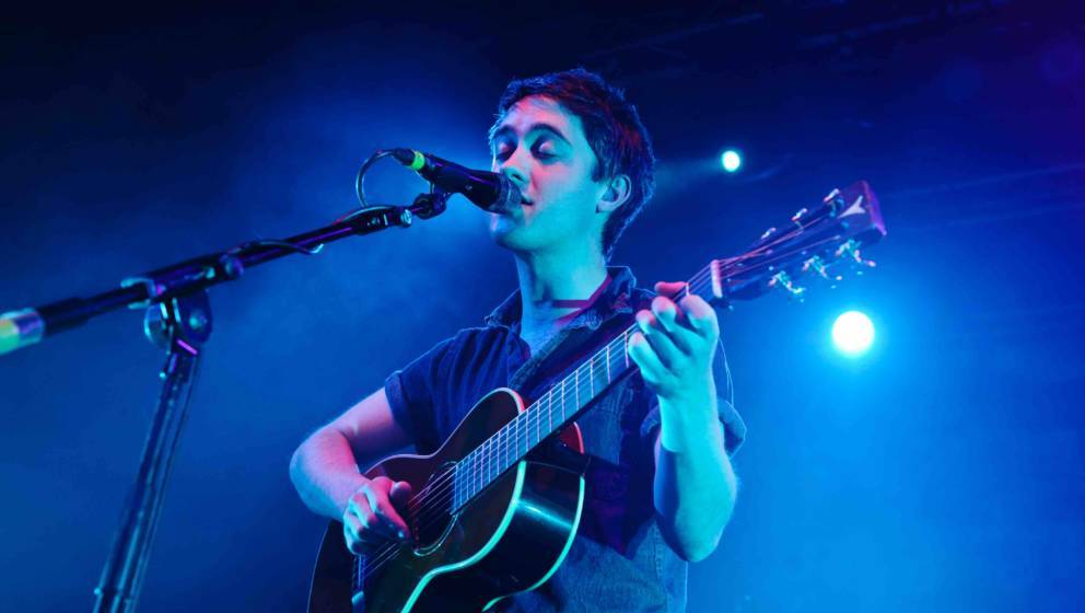 LONDON, UNITED KINGDOM - MAY 21: Conor O'Brien of the Villagers performs at Electric Brixton on May 21, 2013 in London, Engla